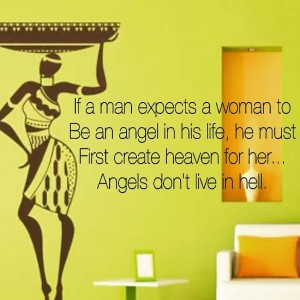 Women are not angels