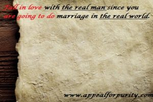 Fall in love with the real man